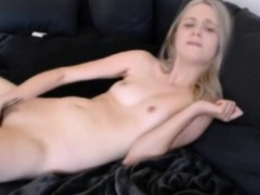 Pretty Teen Masturbates Tight Pussy On Webcam