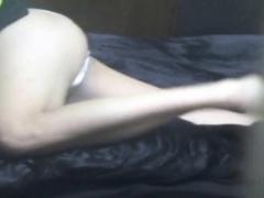 Asian spied masturbating