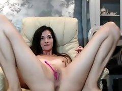 Hot Sexy Skinny Camgirl Masturbating Until Orgasm